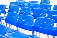 Bławy krzesło Obraz Royalty Free