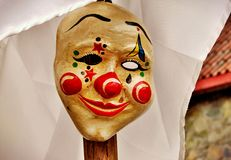 Błazen maska Fotografia Royalty Free