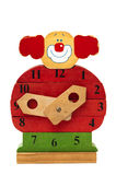 Błazenu zegar obrazy royalty free