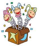 Błazeny w Pudełku ilustracja wektor