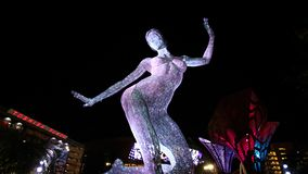 Błogość tana rzeźby pokaz obraz stock