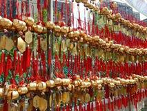 Błogosławieństwa deocration Wong Tai grzechu świątynia Obrazy Royalty Free