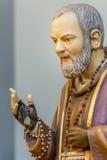 Błogosławieństwo ręka święty Pio obraz stock
