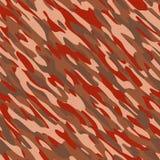 Błonie Pustynnego kamuflażu tekstury Bezszwowa płytka ilustracja wektor