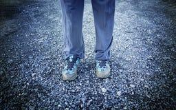 błotniści buty Obrazy Royalty Free