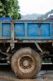 Błotnista ciężarowa opona Fotografia Royalty Free