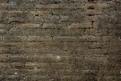 Błoto ściana Fotografia Stock