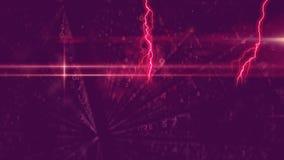 Błyskawicowi i binarni kody zdjęcie wideo