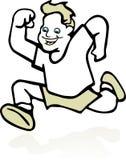 błyskawiczny biegacz Zdjęcie Royalty Free