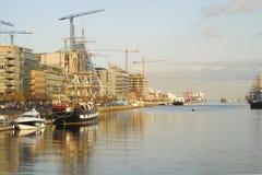 Błyskawiczny rozwój port obrazy royalty free