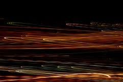 błyski światła prosto Zdjęcie Stock