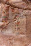 Błyskotki dla sprzedaży w Petra Jordania Fotografia Stock