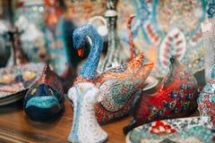 Błyskotki w pamiątkarskim sklepie Obraz Royalty Free
