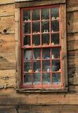 Błyskotki w starym okno Obraz Royalty Free
