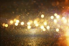 Błyskotliwość rocznik zaświeca tło skupiający się Fotografia Royalty Free