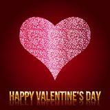 Błyskotliwość valentines kierowi również zwrócić corel ilustracji wektora Obrazy Royalty Free