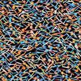 Błyskotliwości holograficzna bezszwowa tekstura Zdjęcia Stock