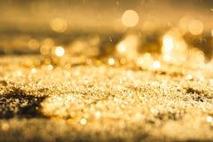 Błyskotliwości złoto i elegancki Obrazy Royalty Free