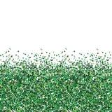 Błyskotliwości zielona tekstura Obraz Royalty Free