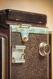 Błyskowa nożna stara analogowa fotografii kamera Obraz Stock
