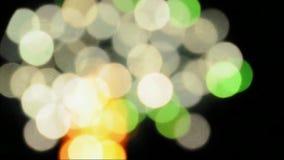 Błysnąć okrąg abstrakcjonistyczną plamę zdjęcie wideo