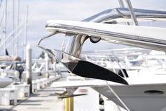 Błyszcząca łodzi kotwica Zdjęcie Royalty Free