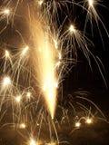 błyszczące fajerwerki ii Obrazy Royalty Free