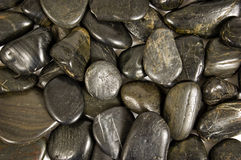 Błyszczące rzek skały Lub Kamienny tło Fotografia Royalty Free