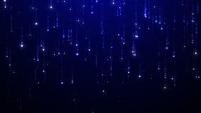 Błyszczącego nieba animowany tło Zapętlająca animacja UHD 2160p 4K 3840x2160 postanowienie zbiory