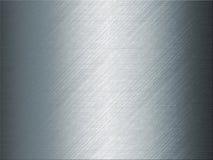 Błyszczący błękitny grey metalu tło Fotografia Stock