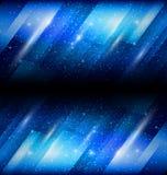 Błyszczący błękitny tło Obrazy Royalty Free