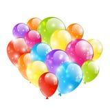 Błyszczący balon ilustracji