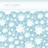 Błyszczący karowy horyzontalny drzejący ramowy bezszwowy deseniowy tło ilustracja wektor