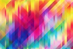 Błyszczący kolorowy siatki tło z poligonalnymi kształtami ilustracji