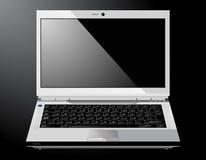 błyszczący laptopu wektor Obraz Stock
