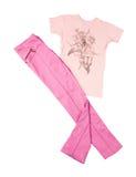 Menchii koszulka i spodnia Zdjęcia Stock