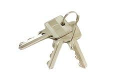 Błyszczący metali klucze Obraz Royalty Free