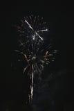 Błyszczący naturalni fajerwerki Zdjęcie Stock