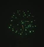 Błyszczący naturalni fajerwerki Zdjęcia Stock