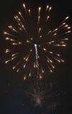 Błyszczący naturalni fajerwerki Fotografia Stock