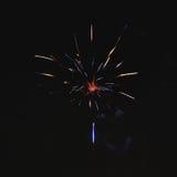 Błyszczący naturalni fajerwerki Obraz Stock