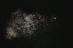 Błyszczący naturalni fajerwerki Zdjęcia Royalty Free