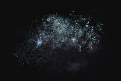 Błyszczący naturalni fajerwerki Zdjęcie Royalty Free
