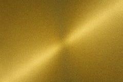Błyszczący oczyszczony złoty metalu prześcieradło, abstrakcjonistyczny tekstury tło ilustracja wektor
