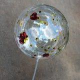 Błyszczący przejrzysty balon Fotografia Stock
