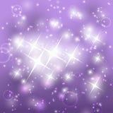 Błyszczący purpurowy tło ilustracji