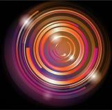 błyszczący tło abstrakcjonistyczny okrąg Obraz Stock