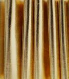 Błyszczący Złocisty zasłony tło Zdjęcie Royalty Free