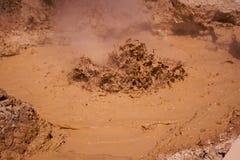 b拉森泥坑 库存图片