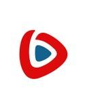 B标注姓名起首字母象3财政业务保险摘要 免版税库存照片